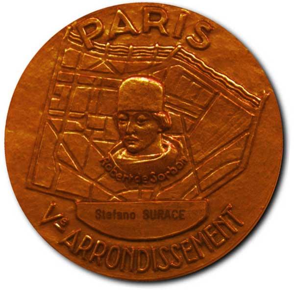 Médaille Sorbonne (Recto)