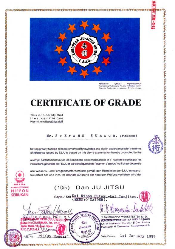 Diploma EJJU