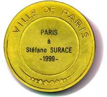 Medaglia Sorbonne (Verso)
