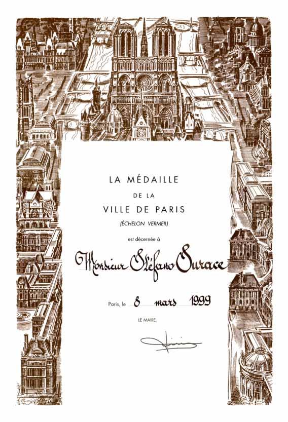 Diploma Tiberi 1999